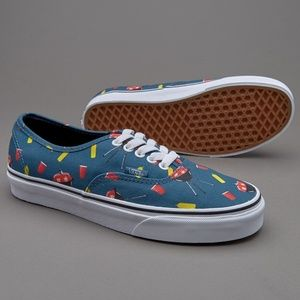 Vans limited edition summer barbecue sneaker sz 8